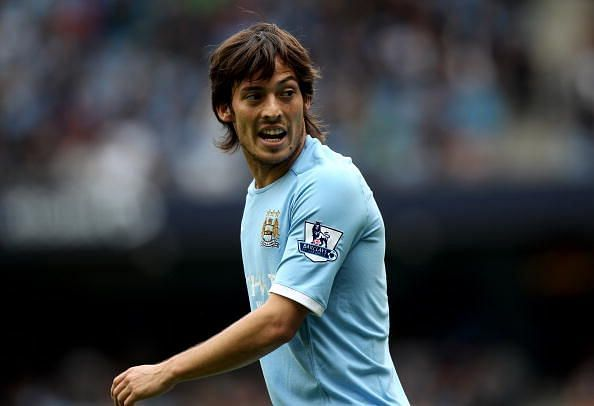 Silva calmly controlling the tempo of the game