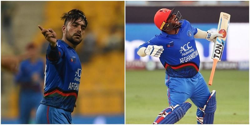 Rashid Khan and Mohammad Shahzad will be up against each other