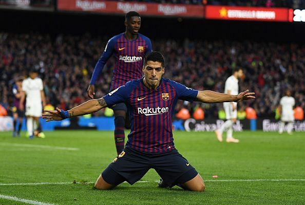 Suarez's splendid hat-trick was just one of the many great performances in the Clasico