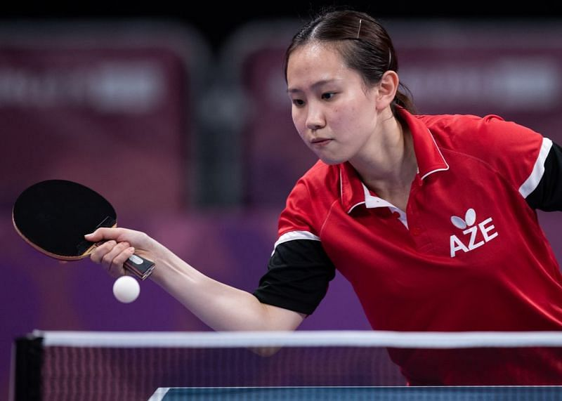 Jing Ning of Azerbaijan (Image courtesy: IOC)
