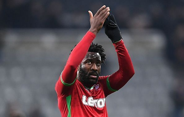Bony ended up with a torn ligament but continued to play for the rest of the match