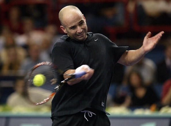 Andre Agassi of USA