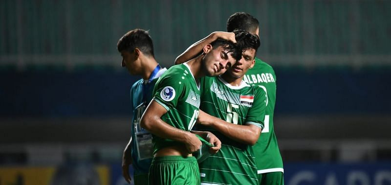Iraq disappointed after their loss to North Korea (Image Courtesy: AFC)