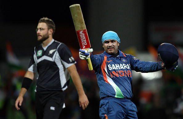 New Zealand v India - 4th ODI