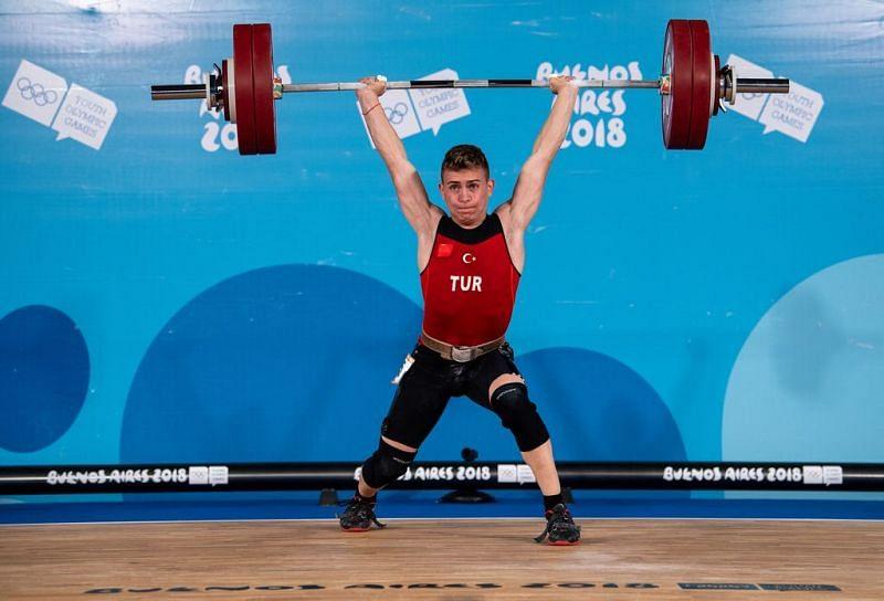 Silver medalist Caner Toptas of Turkey (Image Courtesy: IOC)