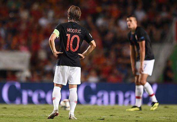Spain v Croatia - UEFA Nations League