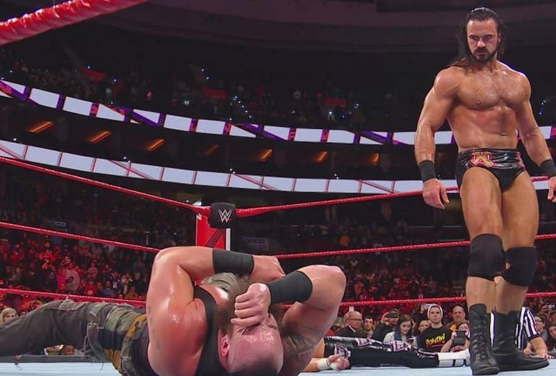 In the absence of Reigns, McIntyre