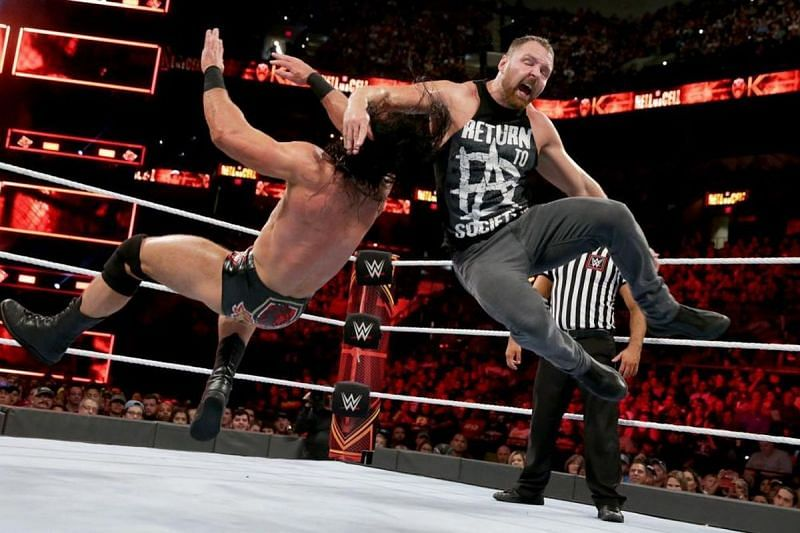 Dean Ambrose vs Drew McIntyre at Crown Jewel?