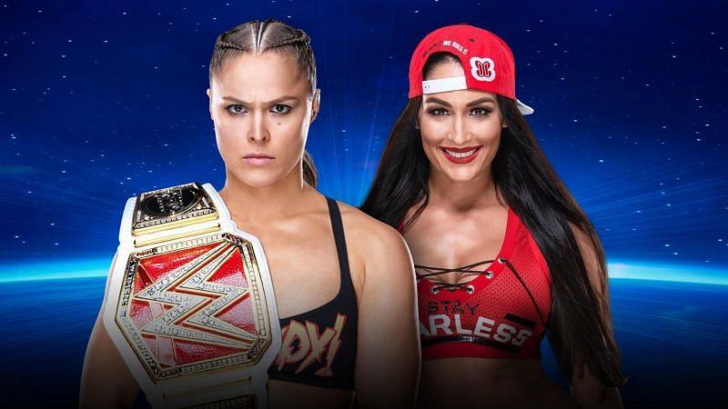 Is Ronda Rousey vs Nikki Bella for the RAW Women