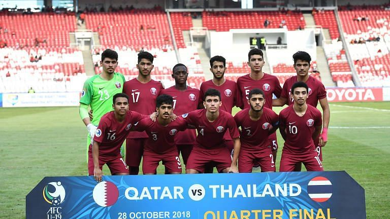 Qatar qualified for 2019 Under 20 World Cup in Poland (Image Courtesy: AFC)