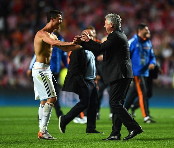Ancelotti won the Champions League with Real Madrid in 2014