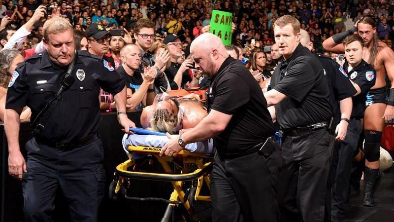 Even though WWE Superstars aren