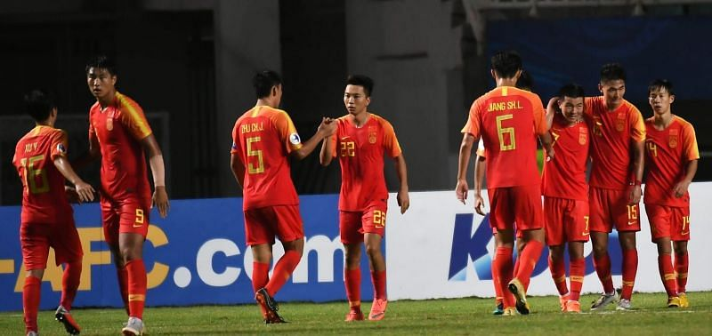 China registered their first victory in the Championships (Image Courtesy: AFC)