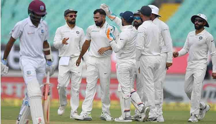 Image result for India win Rajkot TEst