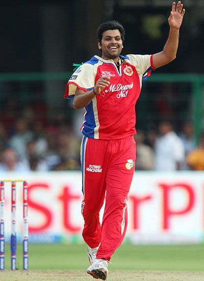 RP Singh played only 1 season for the Royal Challengers Bangalore