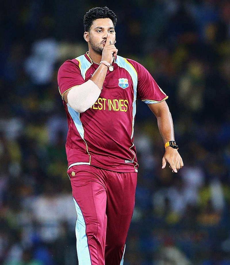 Image result for ravi rampaul taking wicket