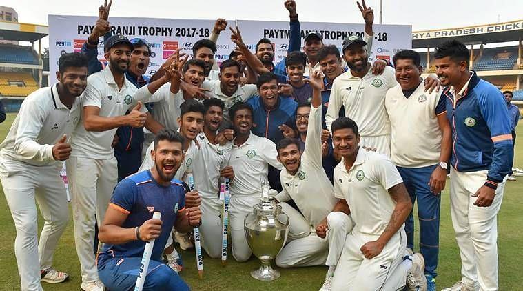 Vidarbha won the Ranji Trophy 2017-18