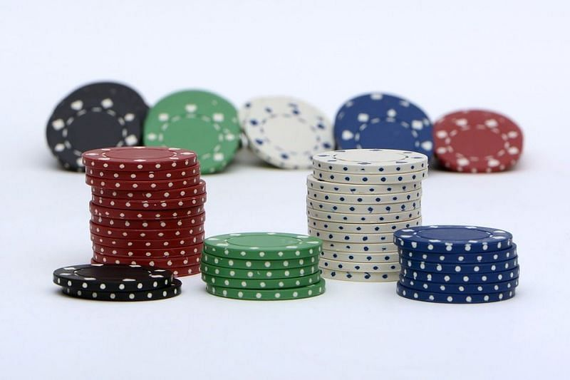 Standard poker chip values