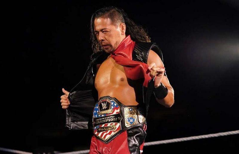 Nakamura is the United States Championship