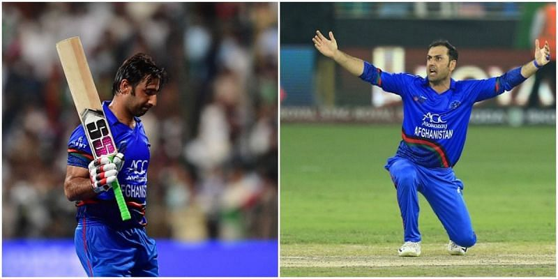 Asghar Afghan and Mohammad Nabi are two of the most experienced stalwarts in Afghanistan cricket