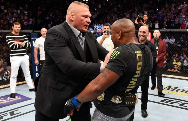 Cormier helped Cain Velasquez train for his fight against Brock Lesnar in 2010
