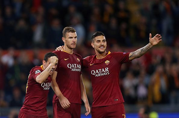 Dzeko has been among the goals