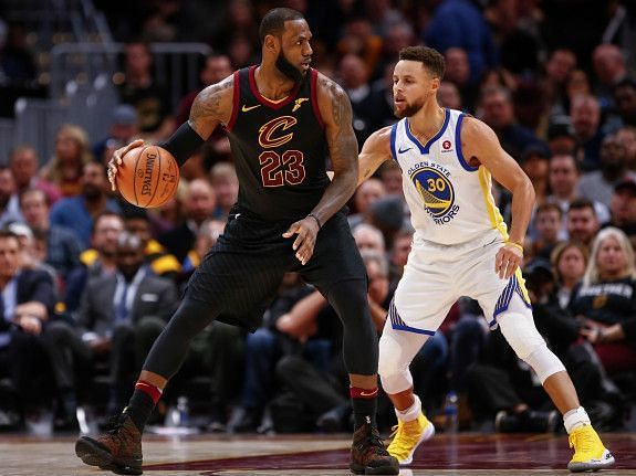 James and Curry had some amazing duels