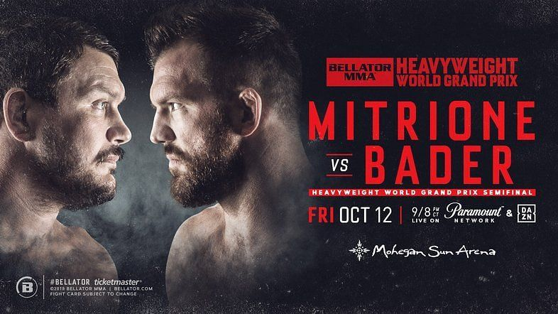 Matt Mitrione and Ryan Bader headlined an amazing card at Bellator 207