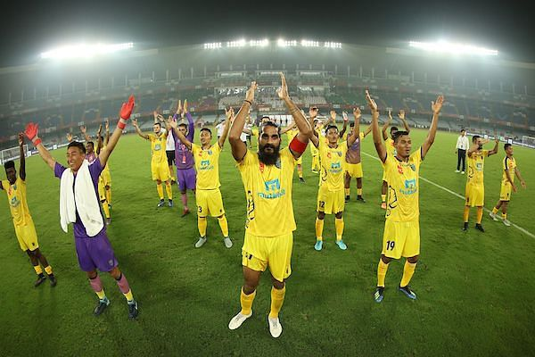 Kerala Blasters will be looking to continue their momentum after beating ATK in their opening fixture