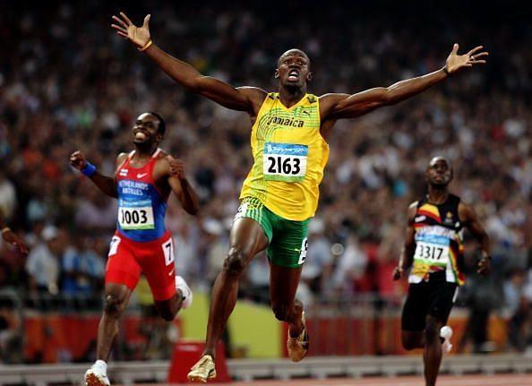 Usain Bolt - The thundering bolt