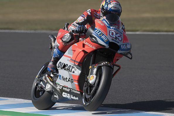 Dovizioso grabs pole in MotoGP Japan Qualifying