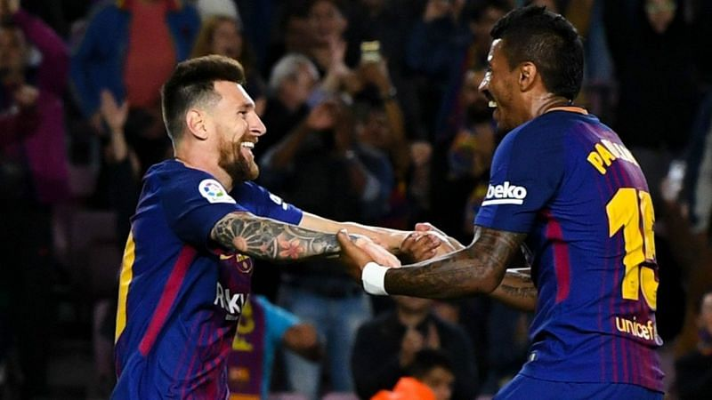 Image result for messi and paulinho