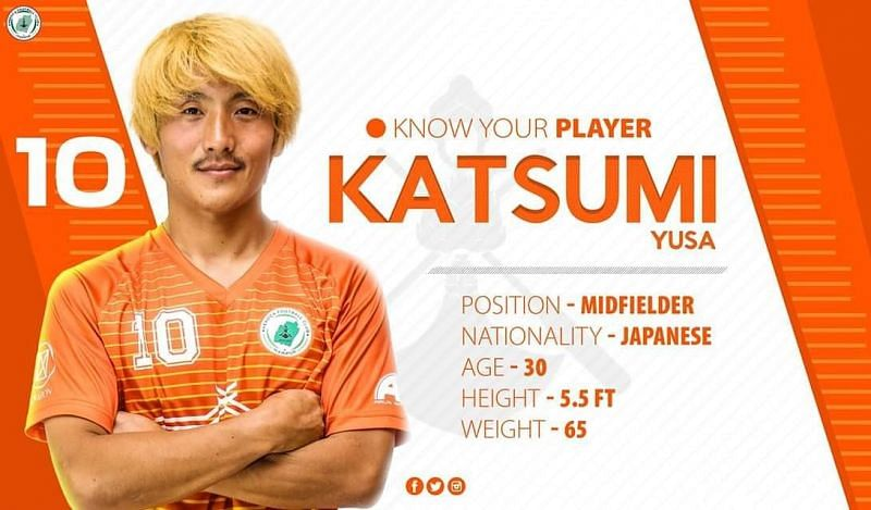 Katsumi has been signed by NEROCA