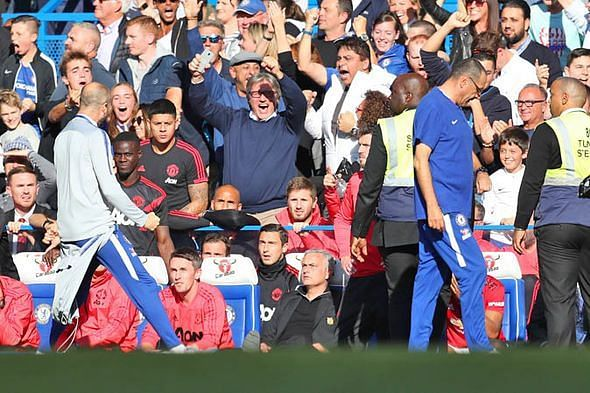 Chelsea assistant Marco Iaani taunted Mourinho after Barkley