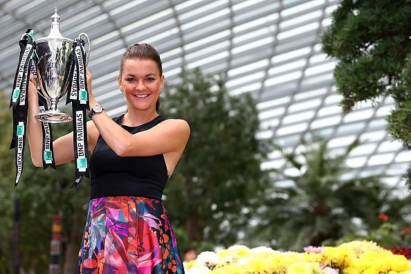 BNP Paribas WTA Finals: Singapore 2015 - Winner Photo call