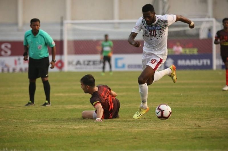 Henry Kisekka scored five goals for Mohun Bagan this season
