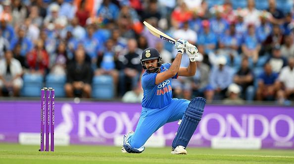 Rohit Sharma holds the record for the highest score in ODI