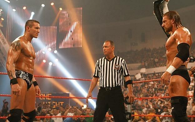 The second best match of this PPV was also Orton vs. HHH