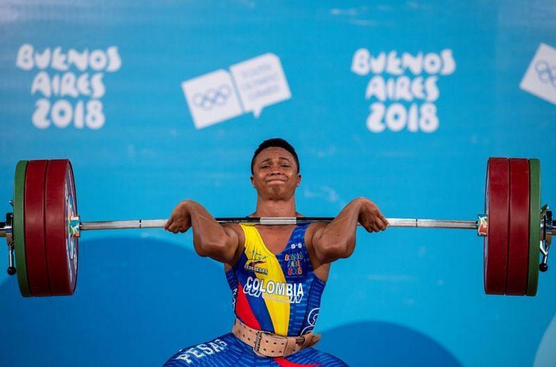 Bronze medallist Estiven Jose Villar Manjarres of Colombia (Image Courtesy: IOC)