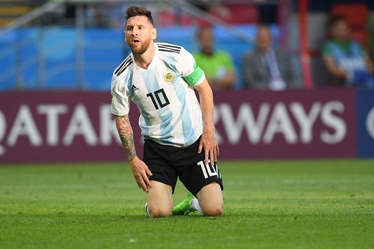 Messi and Co. found it tough to get things going at Russia this summer