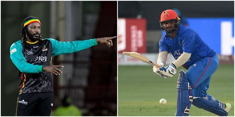 Chris Gayle and Mohammad Shahzad will be in action