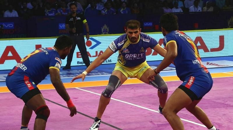 Ajay Thakur was the leading scorer for the Thalaivas again