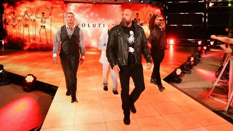 Evolution was one of the best things about SmackDown 1000