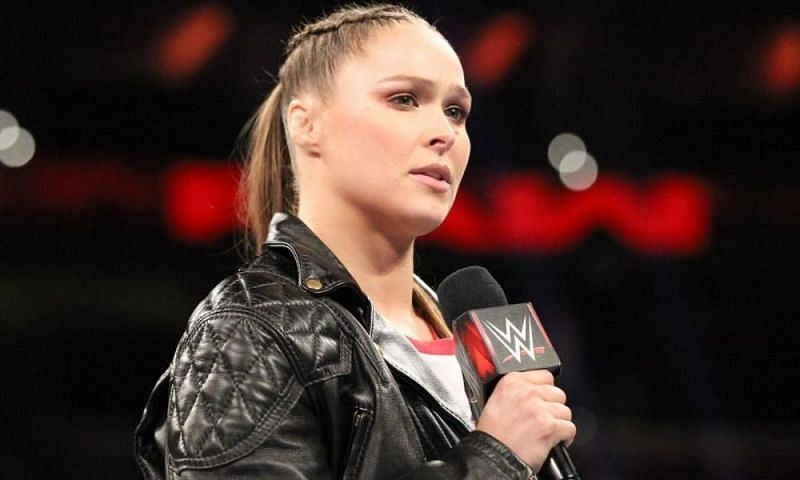 Rousey delivered quite the promo on Monday Night Raw