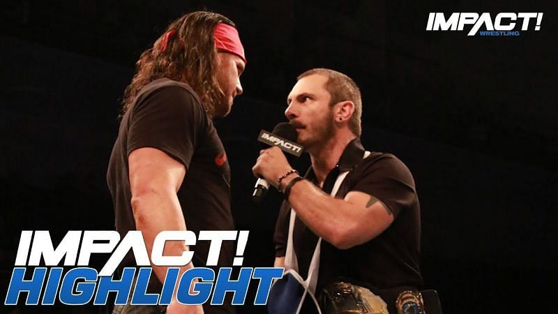 Austin Aries and Johnny Impact