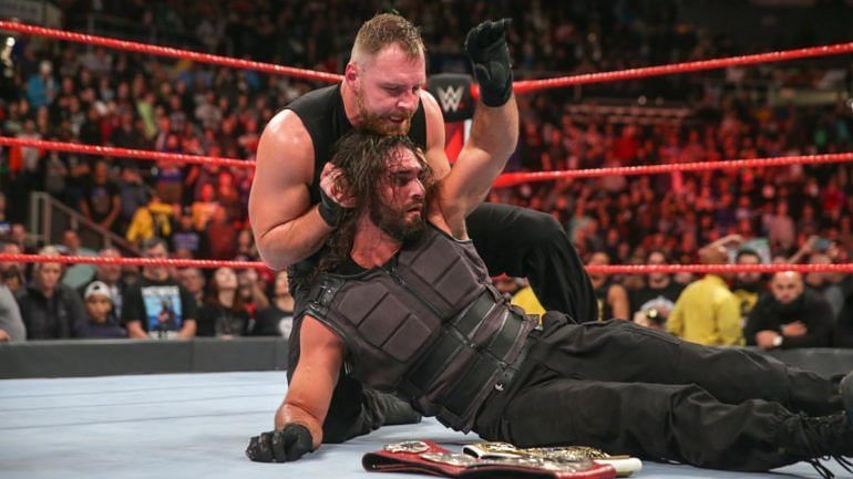 Dean vs Seth has not even started yet