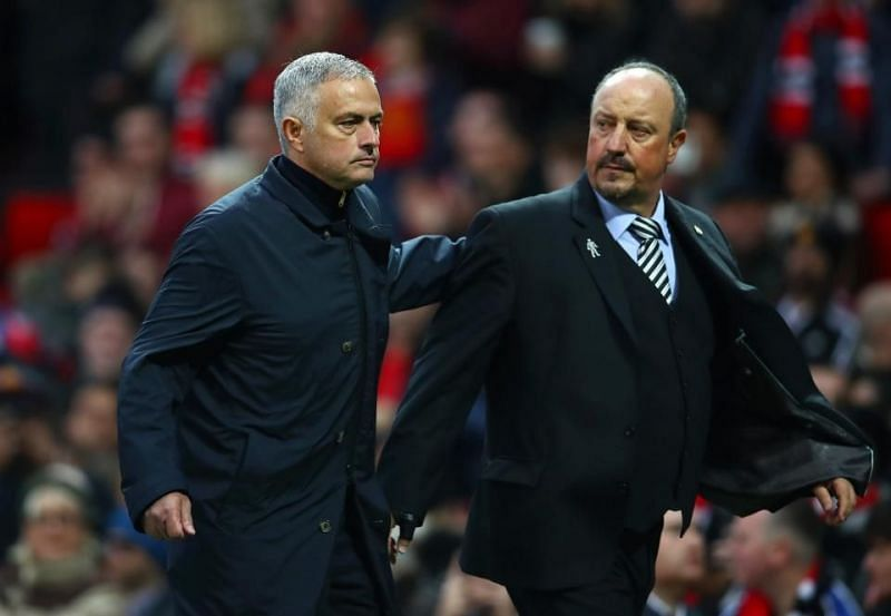 Benitez was very unfortunate at Old Trafford during the last round of fixtures