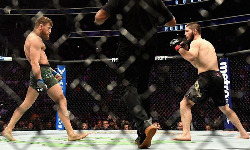 McGregor vs Khabib from UFC 229