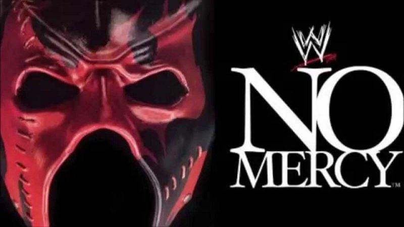 WWE No Mercy (2002) Logo