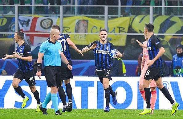 Icardi rescued a point for Inter at the end